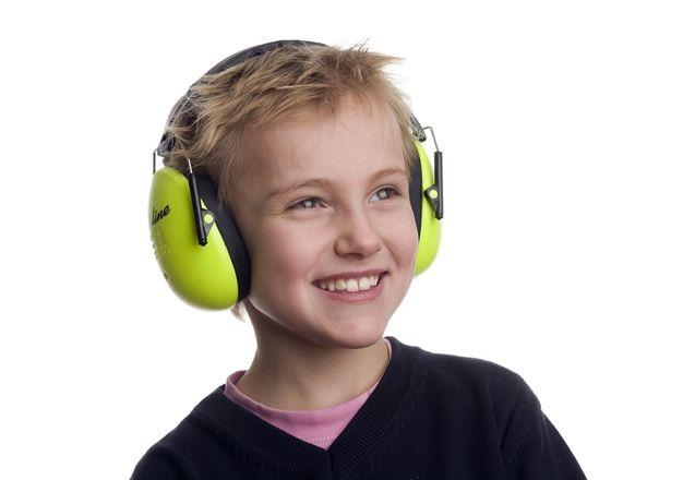 A-safety Hörselskydd Neongrön