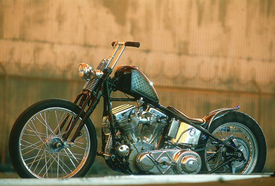 'Black Tibetan' Harley Davidson Panhead by Jason Jessee #harleyddavidsonpanhead