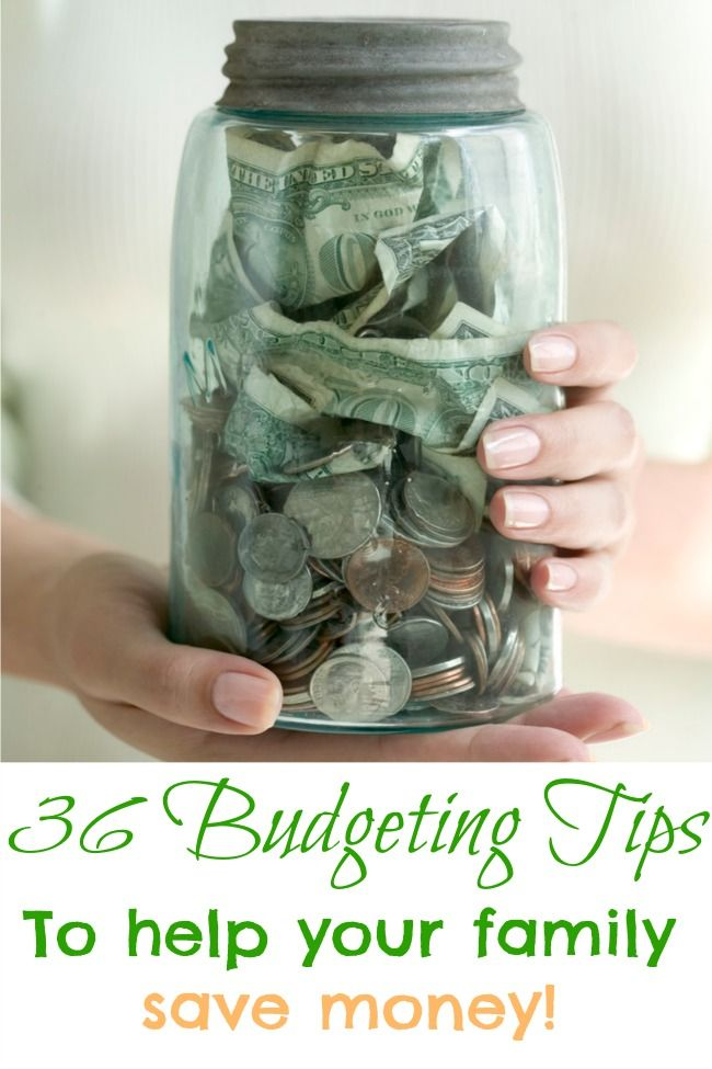 36 budgeting tips to help your family save money