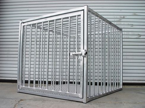"48"" Heavy Duty Dog Crate European Style Strongest Indestructible Super Duty Best Crate #MadeinUSA #MadeinAmerica via BuyDirectUSA.com http://www.carrymydog.com/catalog/item/7217867/9902675.htm"