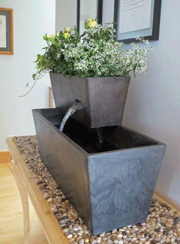Yon Living Fountain: Tranquility Aquaponics Garden #aquaponics