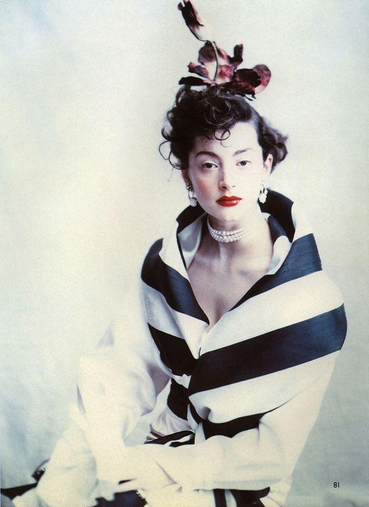 Honor FraserVogue UK, circa 1990'sPhotographer: Paolo Roversi