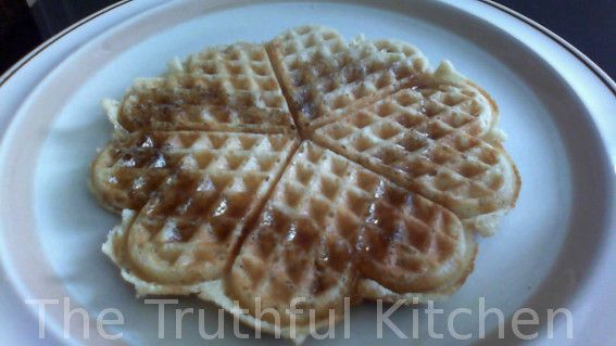 The Truthful Kitchen: Perfect Waffles – Allergy friendly & delicious. GF & Failsafe. Fluffy inside, crispy on the outside! Gut friendly & YUMMY-licious Waffles for a special weekend breakfast!