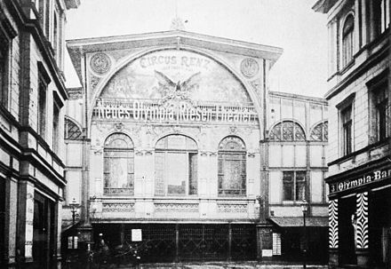 Ehemaliges Circus-Renz Gebaeude in Berlin 1898