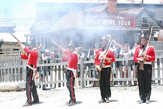 Sarah Pye - Kids Welcome visited Sovereign Hill with her daughter 2012