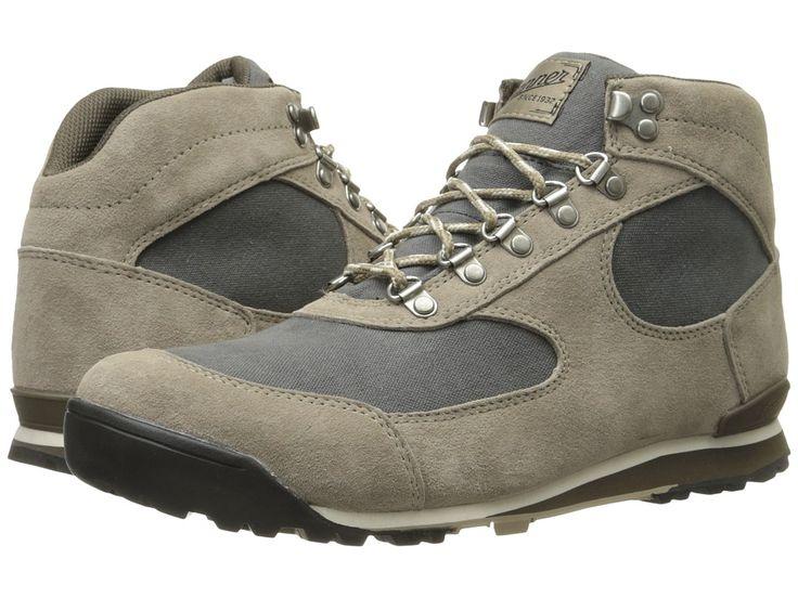 DANNER DANNER - JAG (TIMBERWOLF/DARK SHADOW) MEN'S WORK BOOTS. #danner #shoes #