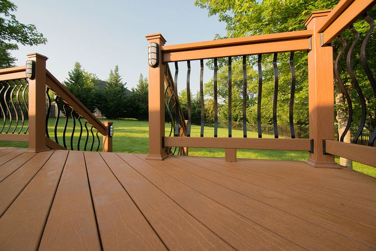 11 best home exterior deck composite vs pvc images for Compare composite decking brands