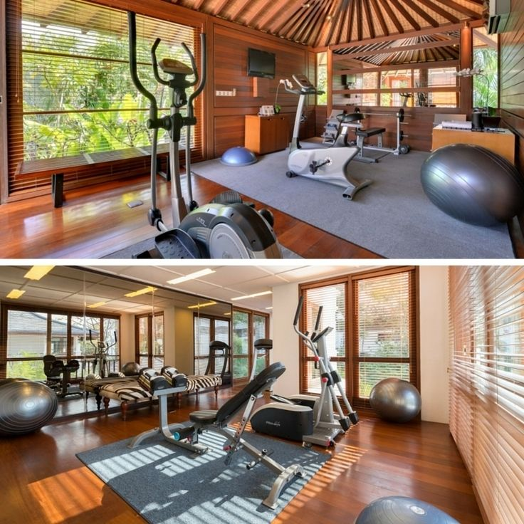 Work off all the amazing Bali food in the private gyms at #VillaWinduSari and #WinduAsri by #WinduVillas #Bali
