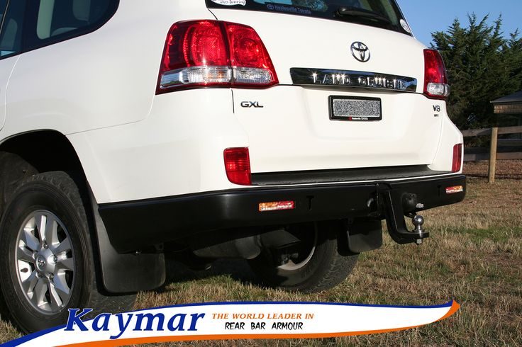 Kaymar Rear Bars, Spare Wheel Carriers, Jerrycan Holders & Accessories Landcruiser 200 GXL no sensors