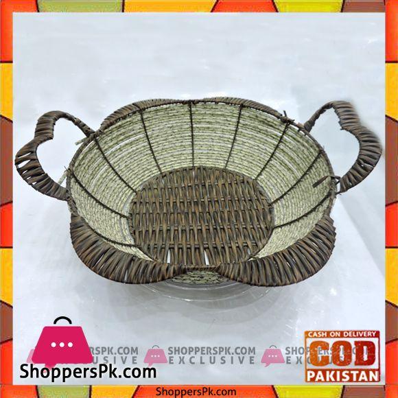 Buy Beautiful Plastic Multipurpose Basket Z1 At Best Price In Pakistan Basket Wicker Decorative Wicker Basket