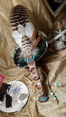 Made to Order~Customized Artisan Smudge Fan Prayer Feathers You Pick Your Style