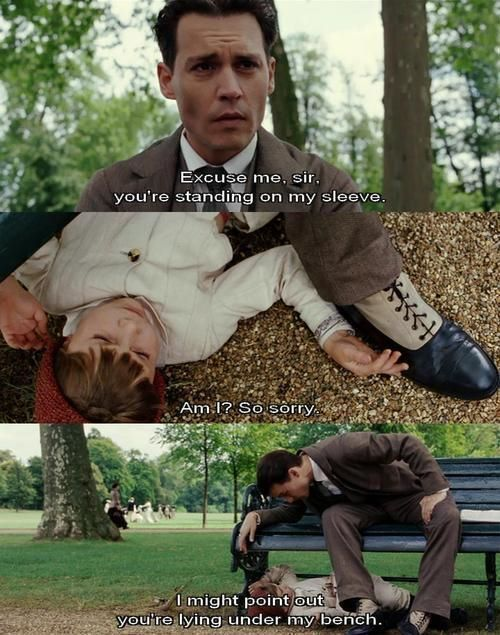 finding neverland. I love this movie so much
