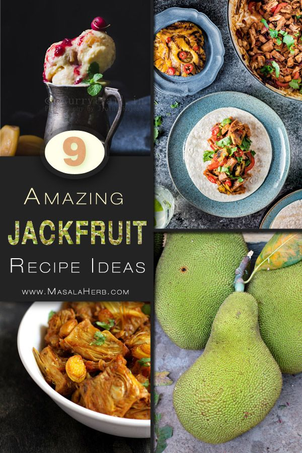 It is the season of the giant jackfruit and that's why today it's time for more Jackfruit Recipes. Jackfruit pulp chunks are fruity and can be enjoyed on their own, yet I wanted more delicious reasons …