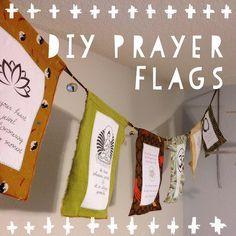 DIY Gebetsfahnen