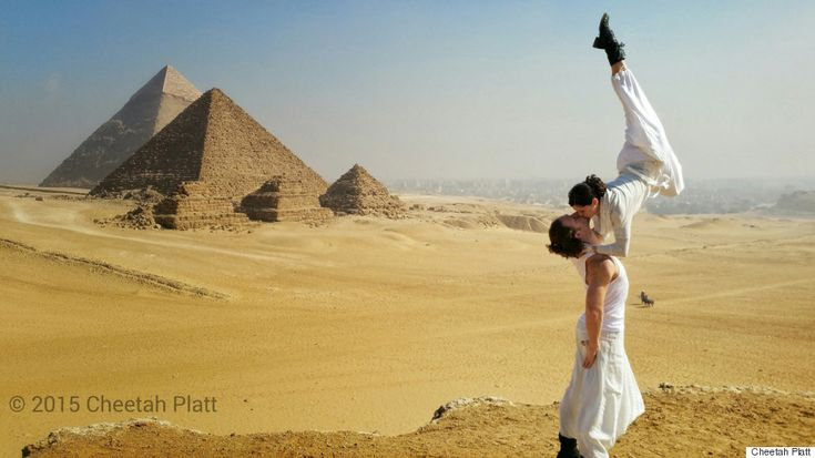 This Incredible Acrobatic Couple Is Getting Married 38 Times In 83 Days On 6 Continents