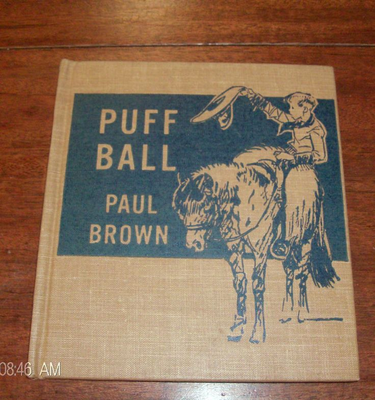 Puff Ball by Paul Brown -Children's Vintage Book - Charles Scribner's Sons 1942