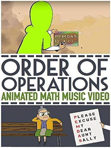 Order of Operations: PEMDAS Video: Song and Animation Served Without Ads for Amazon Prime Members