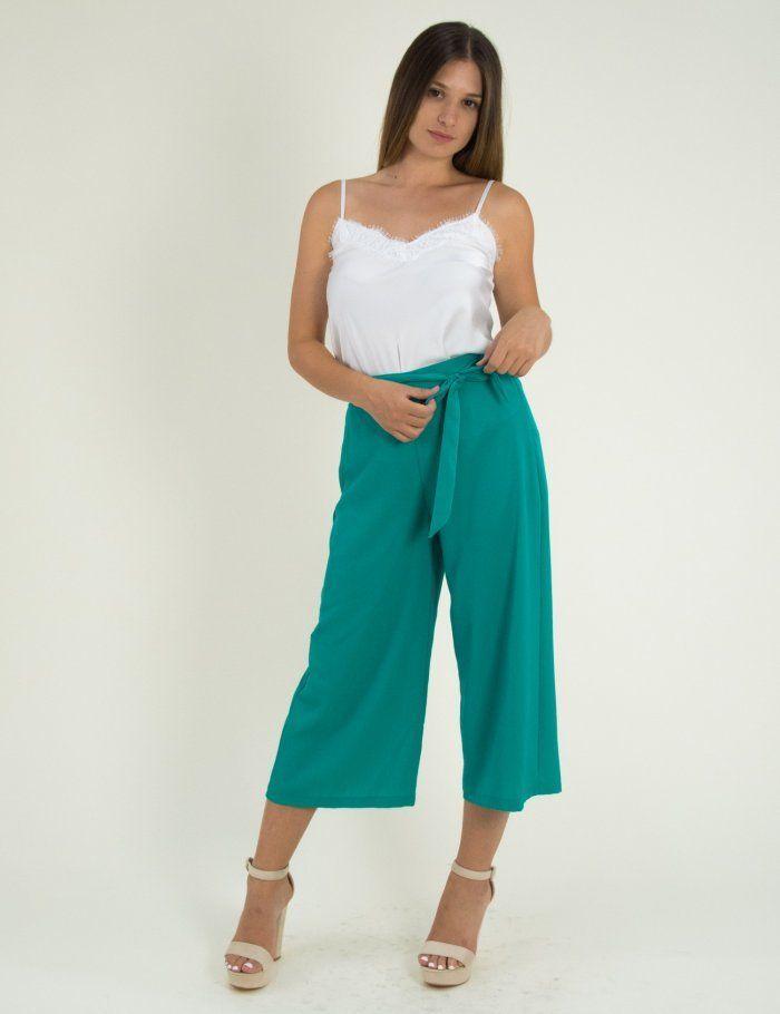759dfdaf6ce7 Γυναικεία πετρόλ ζιπ κιλότ παντελόνι Lipsy μονόχρωμη 1180360R  toRouxo   ρούχα  γυναικεία  προσφορές  φθινοπωρινά  rouxa  ζιπκιλοτ  zipculotte   pantelones