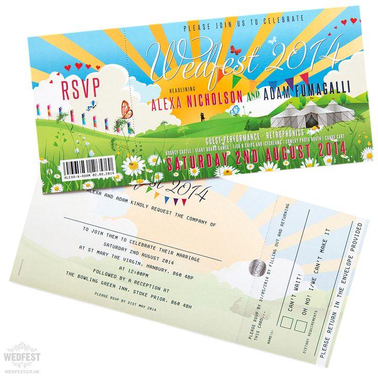 wedfest wedding invitations http://www.wedfest.co/wedding-invitations-for-wedfest-weddings/