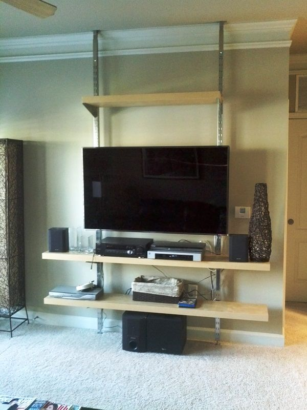 best 25 wall mount entertainment center ideas on pinterest wall mounted tv unit wall mount. Black Bedroom Furniture Sets. Home Design Ideas