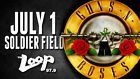 #Ticket  Guns N Roses Tickets Soldier Field 7/1/16 Friday FLOOR B5 SECTION AWESOME SEATS #deals_us