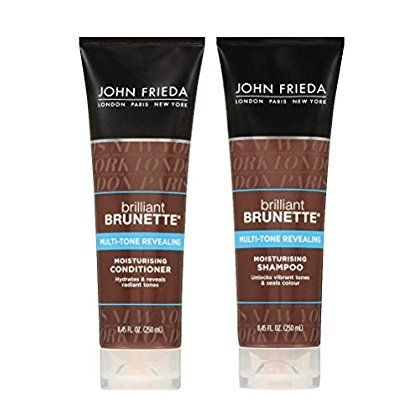 John Frieda Brilliant Brunette Multi-tone Revealing Moisturizing DUO set Shampoo   Conditioner, 8.45 Ounce, 1 each ** Find out more at the image link. #hairdresser