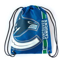 Vancouver Canucks Drawstring Big Logo Bag: The Vancouver Canucks Drawstring Big Logo Bag by Forever… #Sport #Football #Rugby #IceHockey