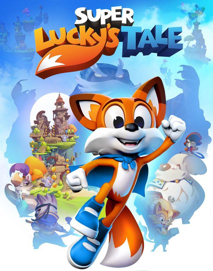 Super Lucky S Tale Key Art Vertical Videojuegos In 2018