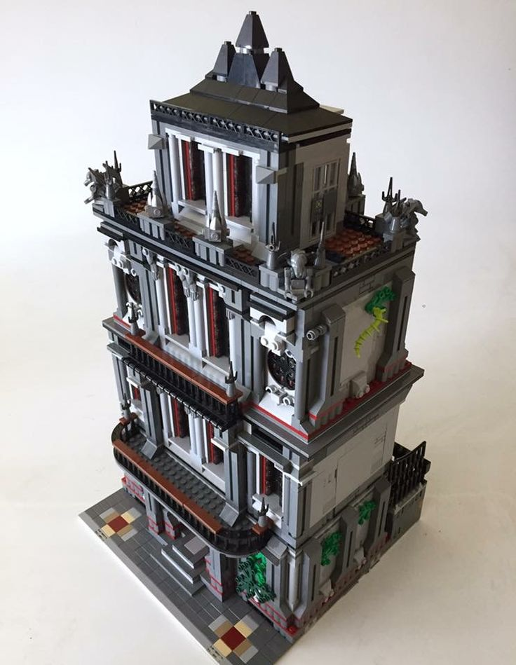 Lego Halloween, Lego Modular, Lego Architecture, Lego House, Lego Projects,  Lego Batman, Lego City, Lego Building, Lego Stuff