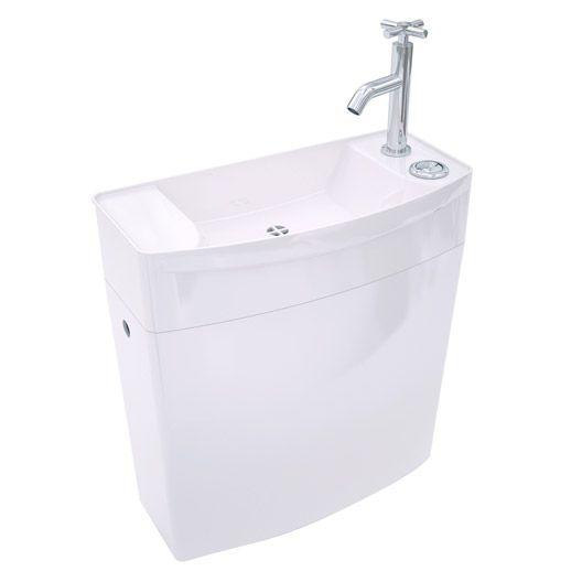 Réservoir WC bas avec lave mains WIRQUIN