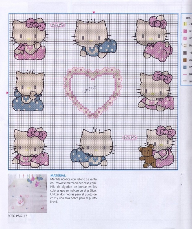 398 best xstitch or crochet kids images on Pinterest | Hand crafts ...