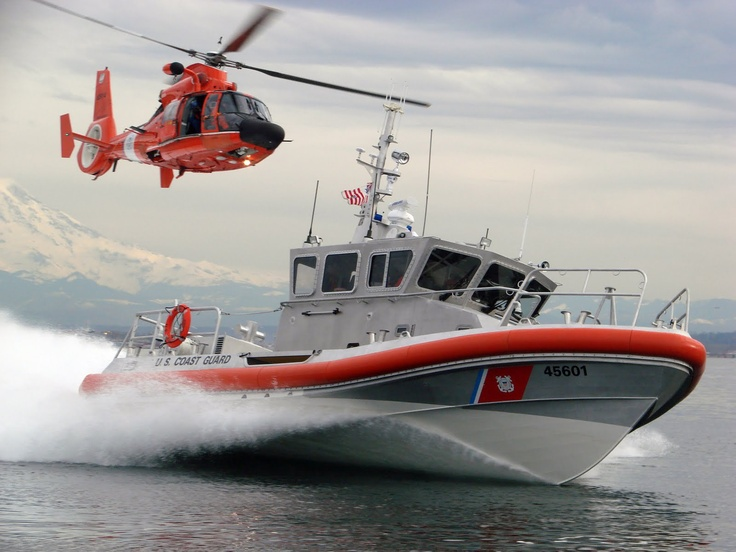 U.S. Coast Guard. Our son has enlisted for a four year enlistment. It begins in August. Very proud of him. It isn't expected, but military service is a family tradition nevertheless. Perhaps because it isn't forced on the next generation. My son the coastie.