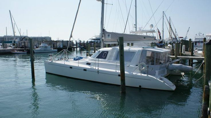 Voyage 450 Cabriolet Catamaran for sale by Owner, Voyage 450 for sale by owner, cruising catamaran for sale