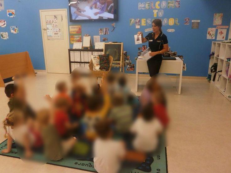My first class on my first day as a preschool teacher