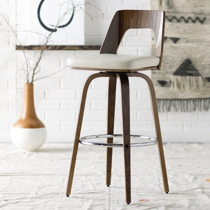 Pepperton Tufted Swivel Counter Stool In 2019: Emory Bar & Counter Swivel Bar Stool In 2019