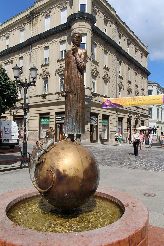 Szent György és a sárkány. Foto: Beledi Márta Győr - Hungary