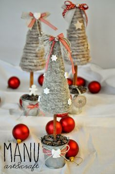 idea for christmas decoration ♥