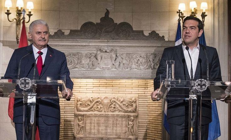 Greek, Turkish PMs Seek Harmony, Mutual Benefits.