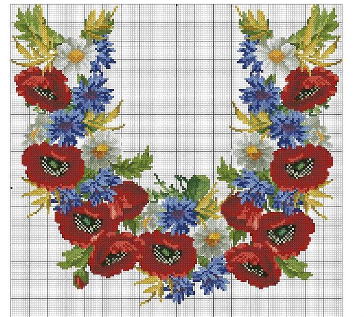 Gallery.ru / Фото #133 - схемы для вышиванок - zhivushaya