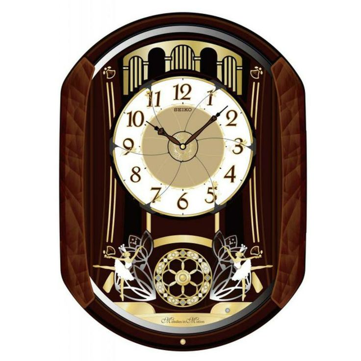 seiko wall clocks prices uk clock singapore online jewelers musical oval brown gold