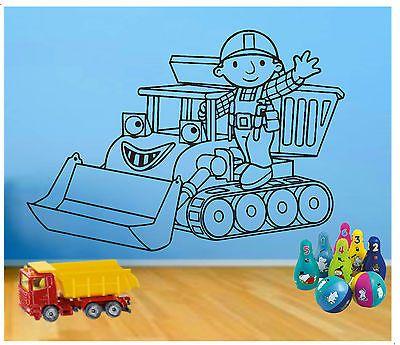 Wall Art #stickers #decals / Children`s Bedroom / Bob The #builder Part 49