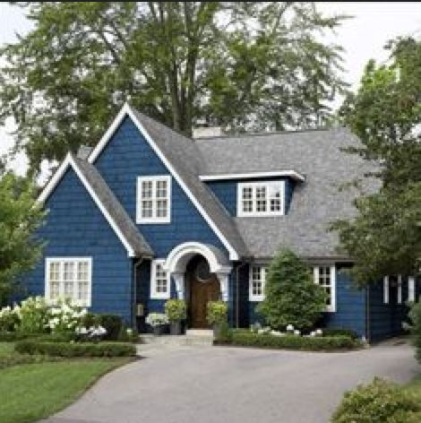 Best Most Popular Exterior Paint Colors Best Navy Blue Paint 400 x 300