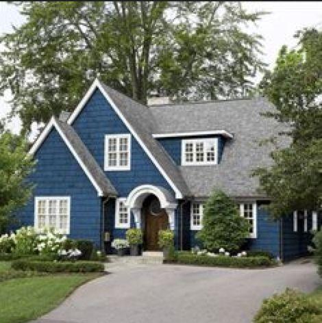 Most popular exterior paint colors best navy blue paint for Most popular colors for exterior house paint
