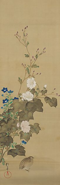 Sakai Hōitsu (1762-1828), Birds and Flowers of the Twelve Months, about 1824-1828