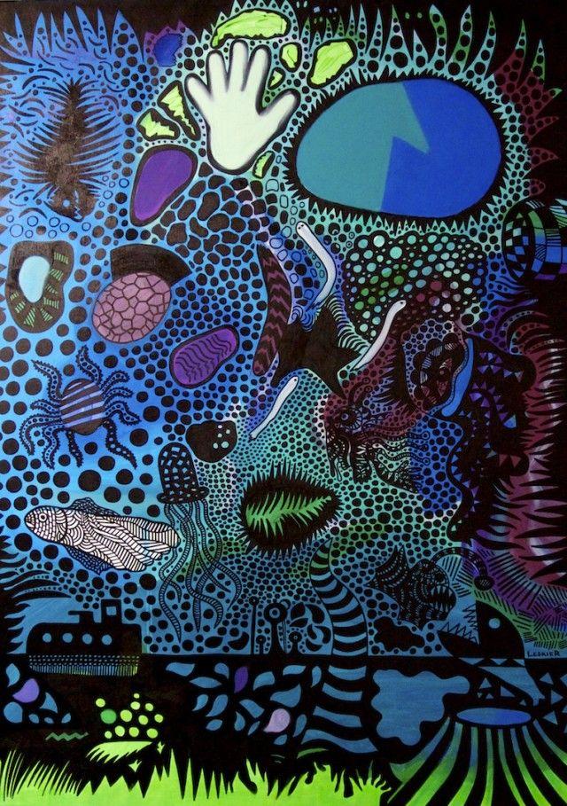 Aboriginal art meets Pop-Art – Fubiz™