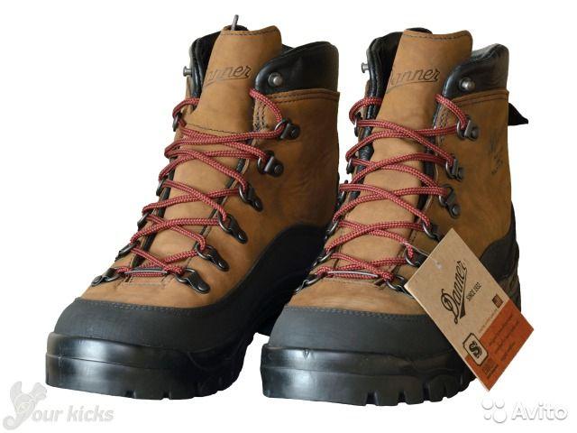 Американского производства походные ботинки DANNER оригинал, модель Crater Rim Hiking Boots, арт.:37440. Цвет:коричневые(Brown). Производство вручную США. Куплены в США за 300 долларов + пересылка. Новая обувь в коробке.