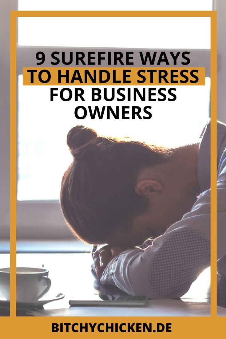 Learn how to manage your stress while doing your creative business. Read this…