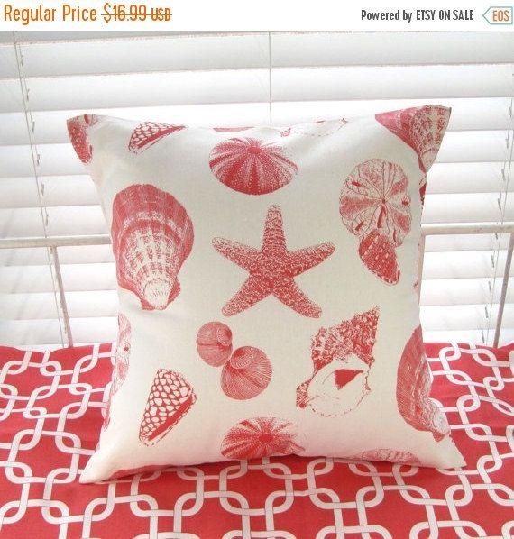 CLEARANCE SALE Pillow Cover Pillow Beach Decor By PillowsByJanet