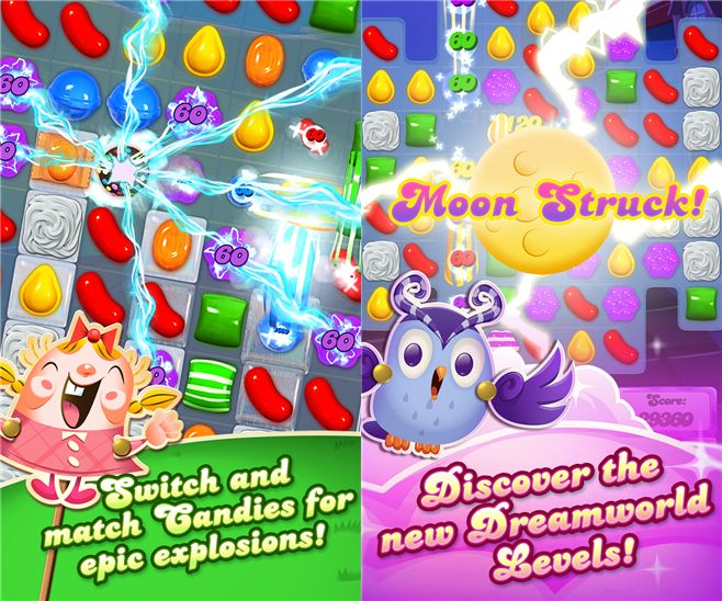 This game swallowed a lot of battery power on Android and iOS phones and now Windows Phone users can swipe-match those precious little gems with nimble fingers on their phones too. #winndowsphone #mobilegames #games