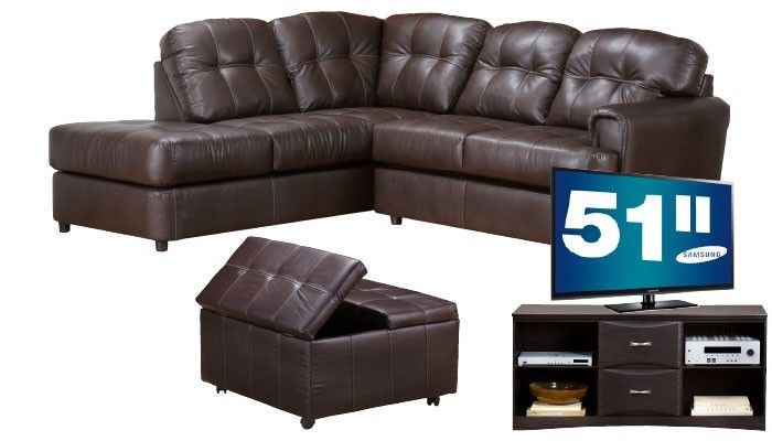 Slumberland Furniture Rugby Collection TV 3Pc